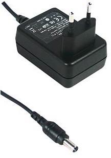 Stecker-Schaltnetzteil 24V DC anschlussfertig mit Buchse montiert und geprüft